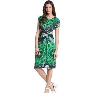 Desigual Uralet Gathered Cowl Neck Dress